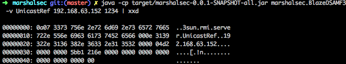 Marshalsec Output